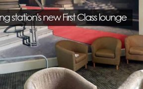 Kettering Stations new First Class Lounge