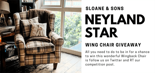 Nyeland Star Wingback Chair Giveaway