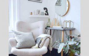white angel chair