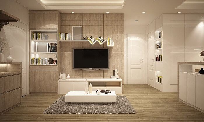Living Room With Open Spacing