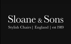sloane & sons stylish chairs logo