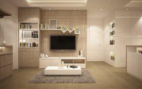 modern interior design in a living room