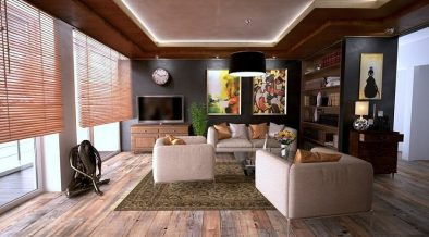stylish staged home