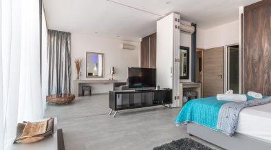expensive looking bedroom
