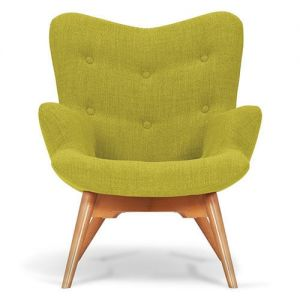 Leaf Green Angel Chair