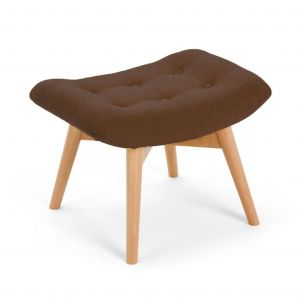 brown foot stool