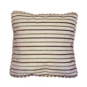 Legend Brown Striped Scatter Cushion