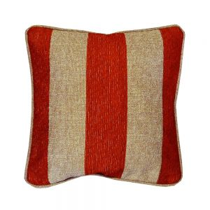 Manilla Red Striped Scatter Cushion