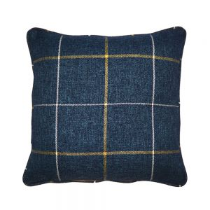 Blue Morris Tartan Scatter Cushion