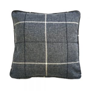 Grey Morris Tartan Scatter Cushion