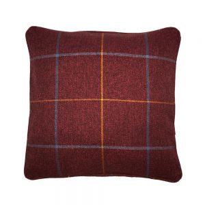 Red Morris Scatter cushion