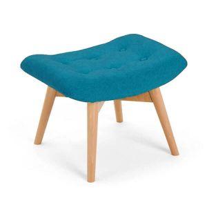 Blue Angel Chair Footstool