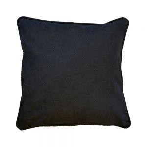 Plain Black Scatter Cushion
