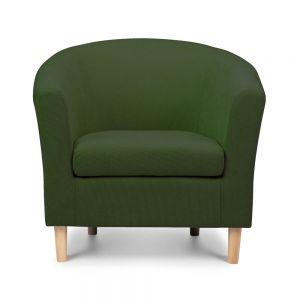 shetland green tub chair