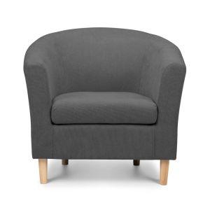 shetland grey tub chair