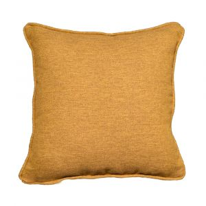 mustard tartan scatter cushion