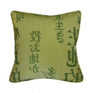 Tokyo Green Scatter Cushion