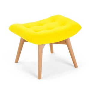Yellow Angel Chair Footstool