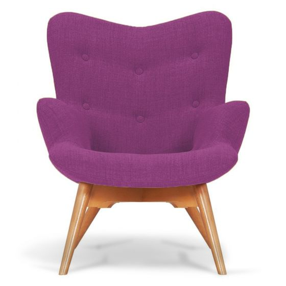 Purple Angel Chair