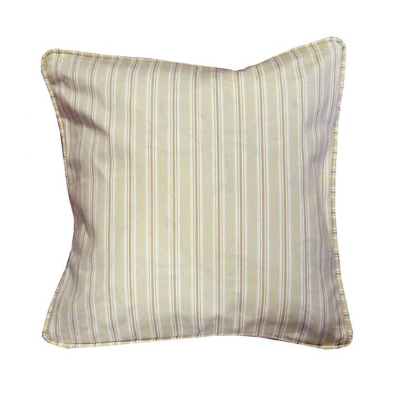 Baystripe Natural Scatter Cushion