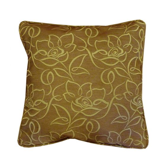 Bromwich Green Floral cushion