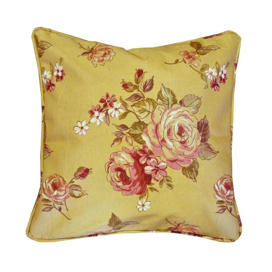 Kew Floral Oatmeal Scatter Cushion