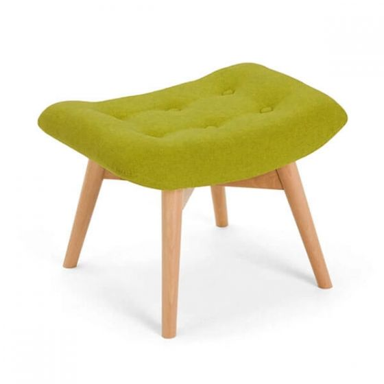Green Angel Chair Footstool