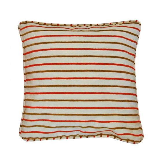 Legend Red Striped Scatter Cushion