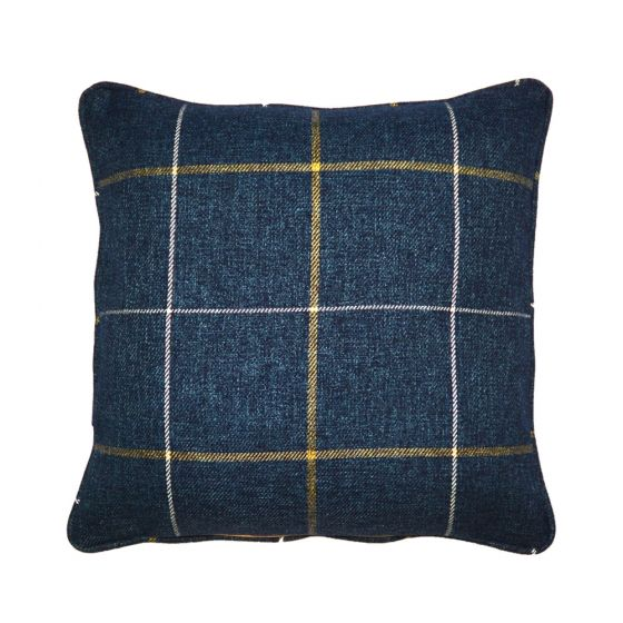 Blue Morris Tartan Scatter Cushion