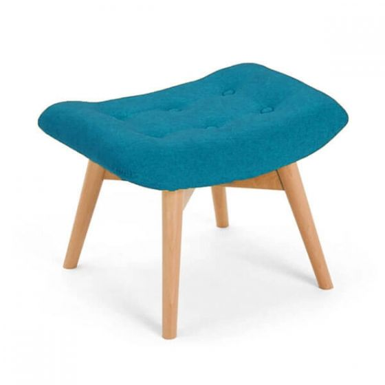 Blue Angel Chair Footstool
