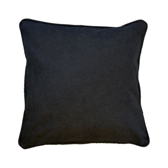 Plain Black Scatter Cushion