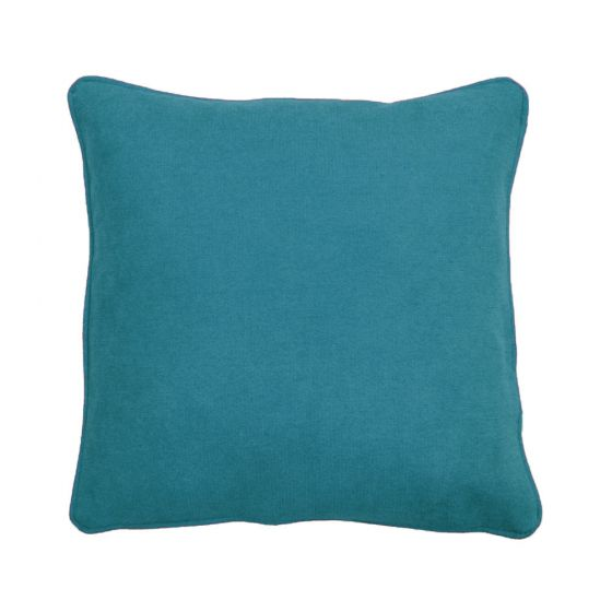 Plain Blue Scatter Cushion