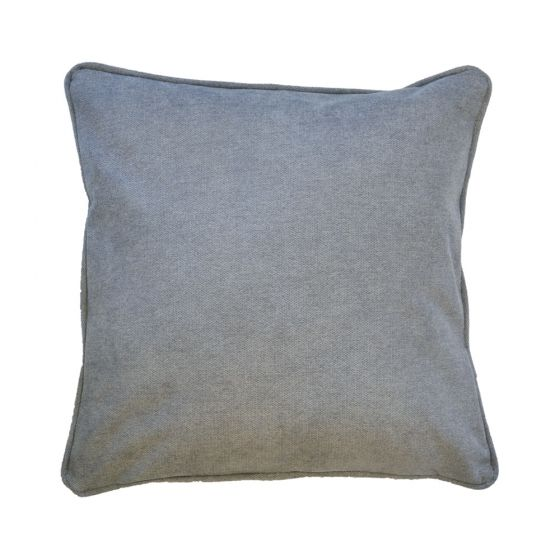 Plain Silver Scatter Cushion