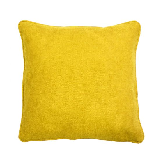 Plain Yellow Scatter Cushion