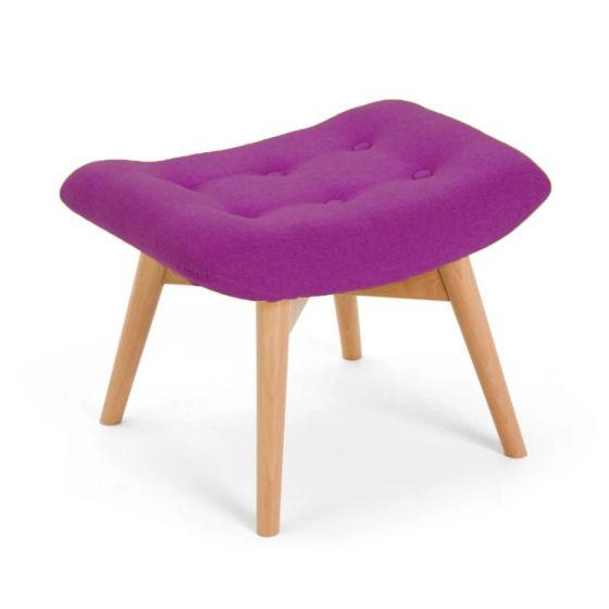 Purple Angel Footstool
