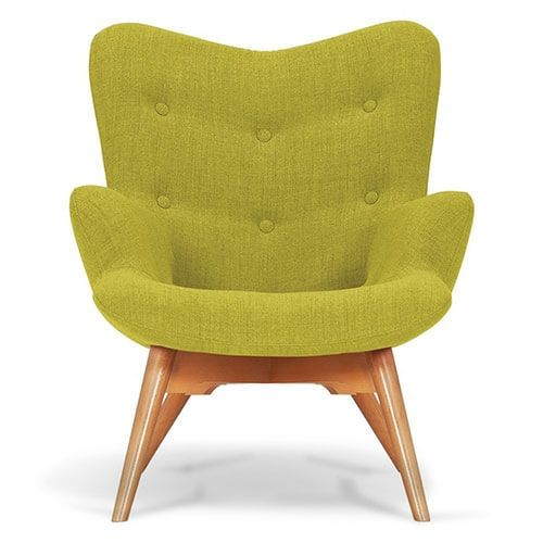Leaf Green Angel Chair
