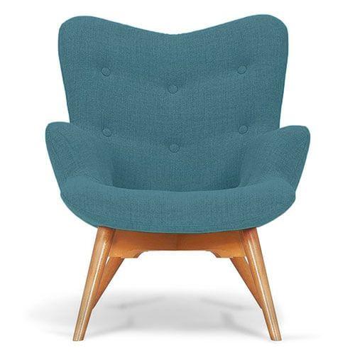 Ocean Blue Angel Chair