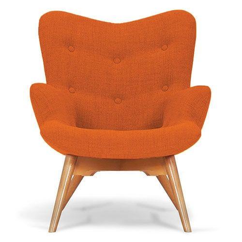 Riva Orange Angel Chair