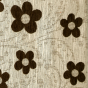 Black Woodstock Fabric Swatch